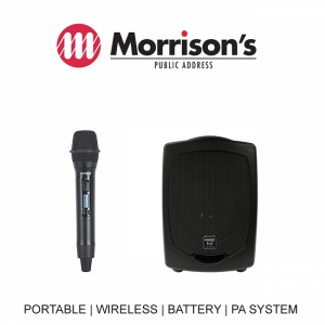Focus 505 PA Pack 1 SQ6100R Hand Held Wireless mic