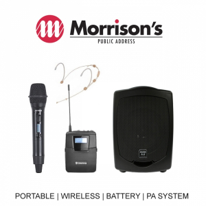 Focus 505 PA Pack 3, SQ6100R Mic SM6100 NHS777-0 Wireless microphone