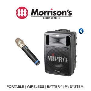 Mipro MA505PAM5-1 Pack ACT32H5 Hand Held Wireless Microphone