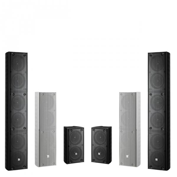 Toa Tz Series Weatherproof Colunm Speakers