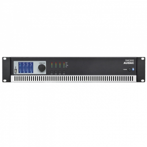 SMQ500 AUDAC Power Amplifier 500 watt x 4